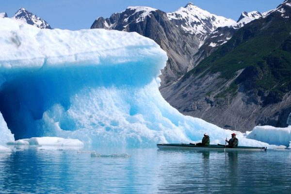 McBride Glacier Kayaking